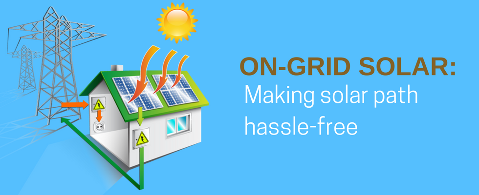 On-Grid Solar Power System: Placing India Right on the Solar Track