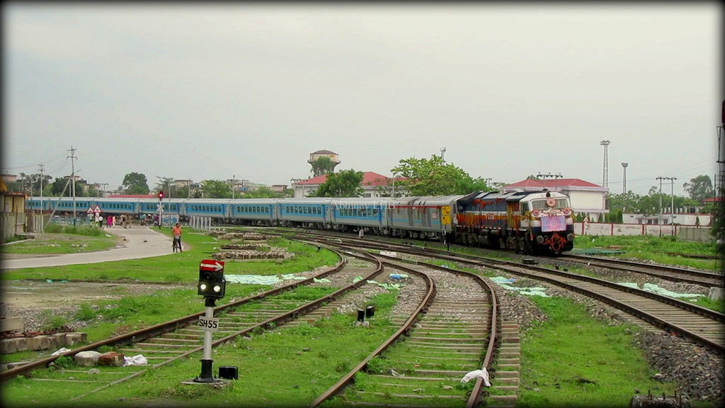 Northeast India gets its first Solar Power System Railway Station