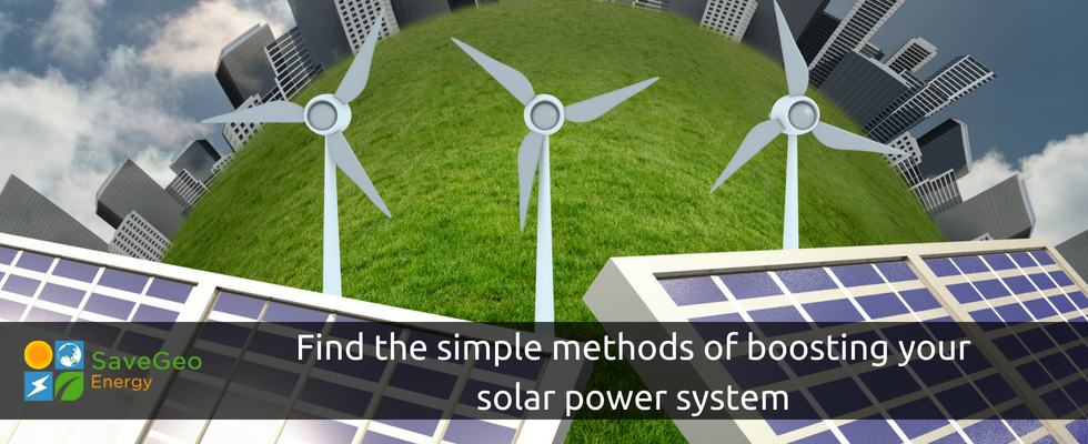 Boost your solar power energy in few naive methods