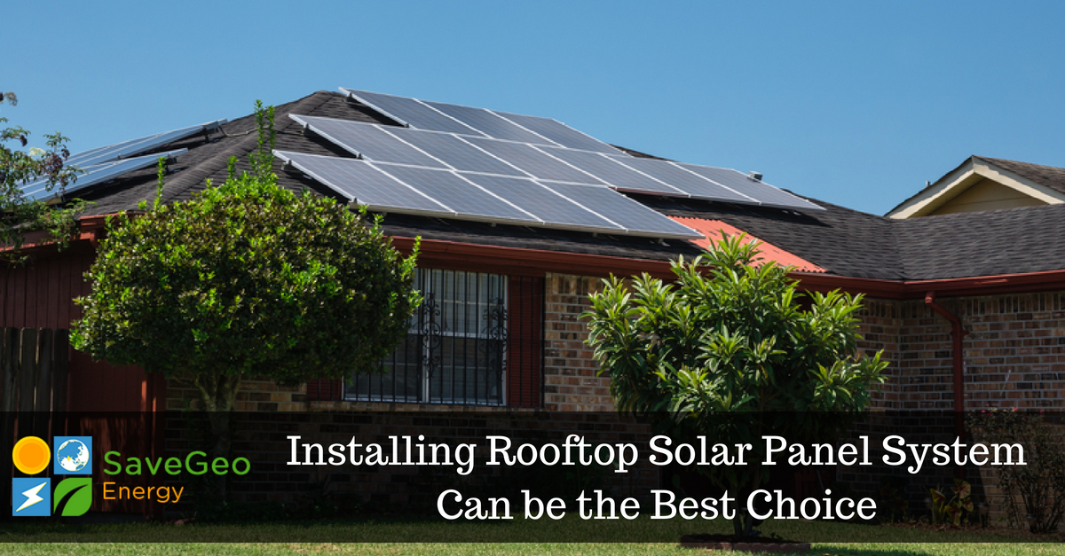 Few thing to keep in mind before installing a rooftop solar panel system