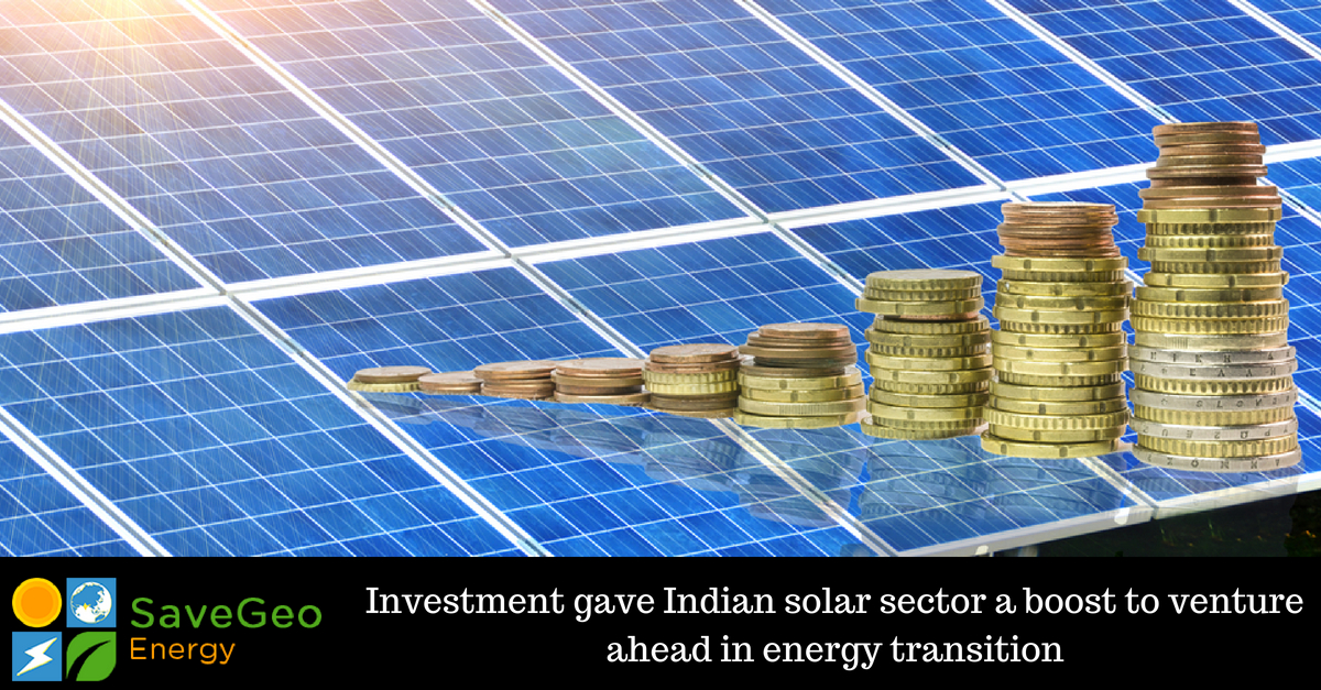 Investment Scenario is the Driving Growth in Indian Solar Power Sector