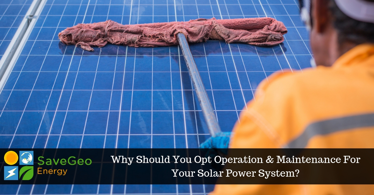 Everything a Residential Solar Rooftop User Should Know About O&M Services