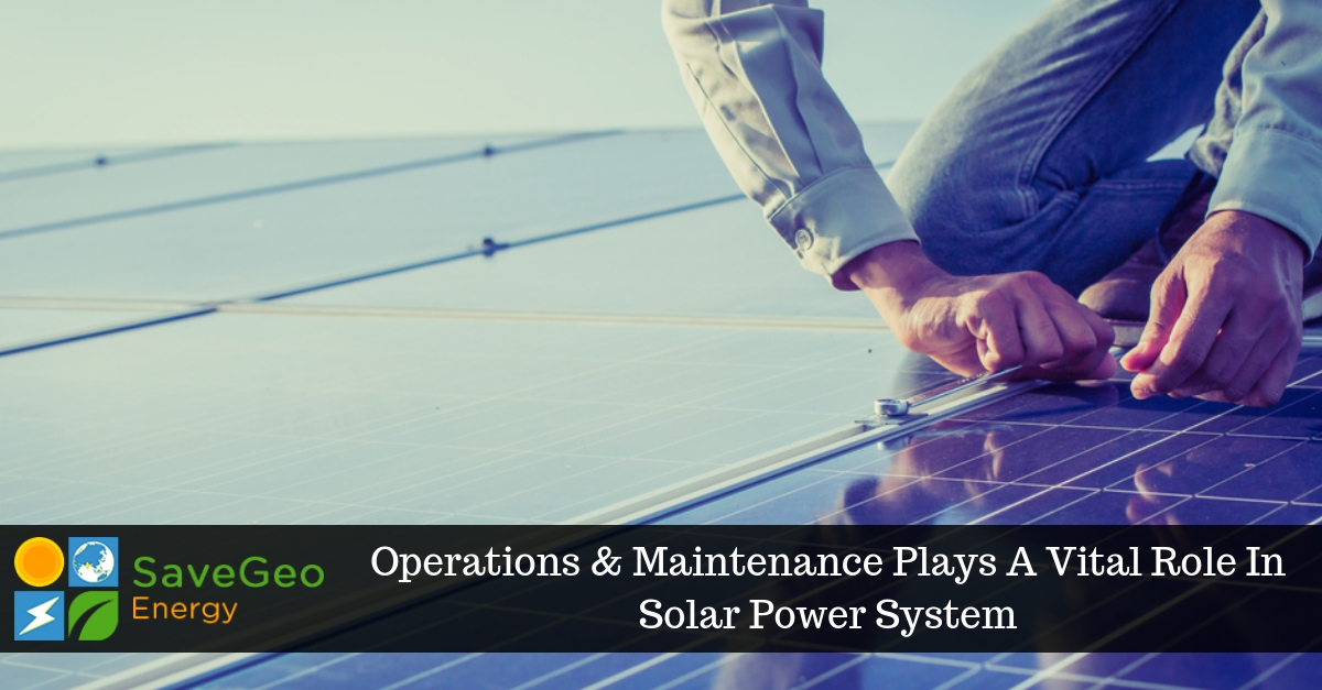 Is Operations And Maintenance Limited Solar Panel System?