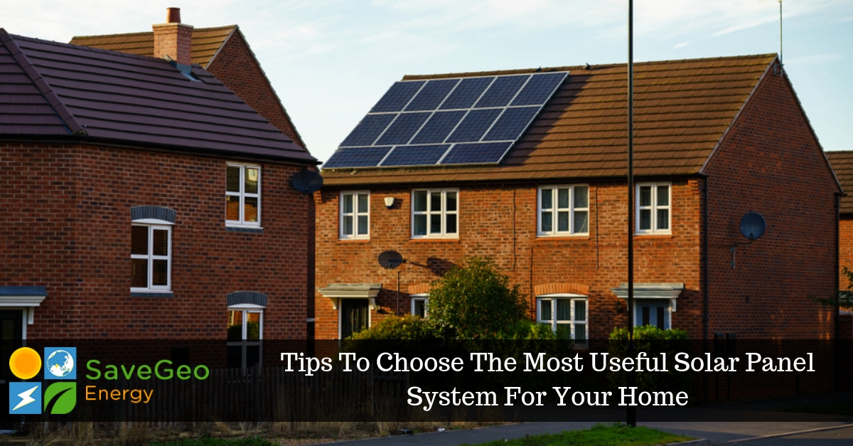 Find the Perfect Solar Panels That Fits Your Requirement