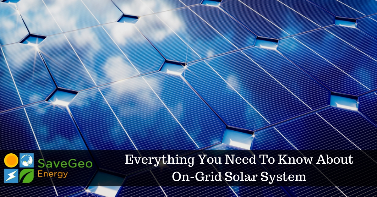 On-Grid Solar System - Face Of The Energy Industry In India