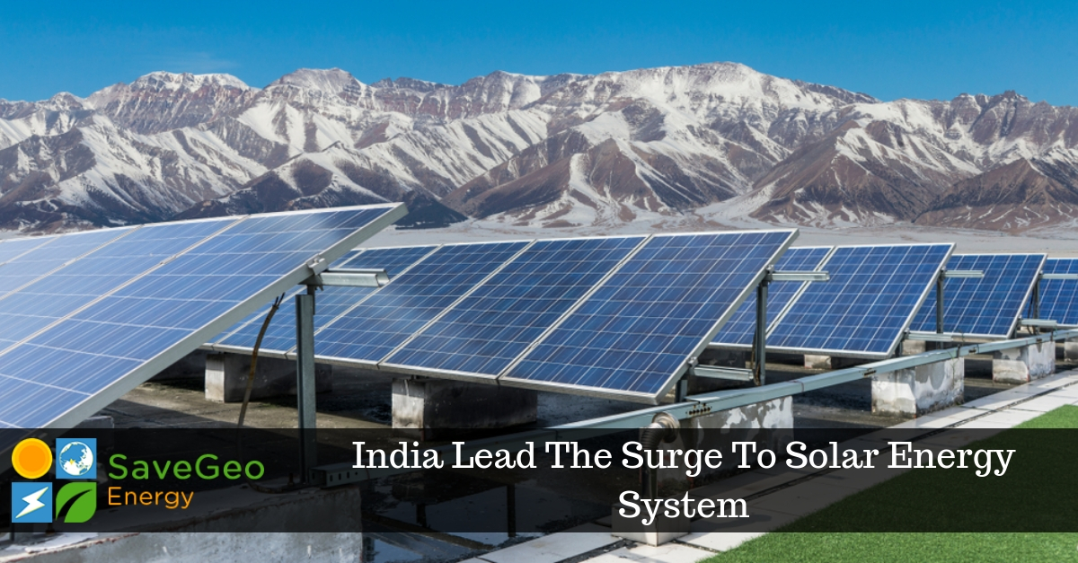 India Is Now Investing More Towards Solar Power System